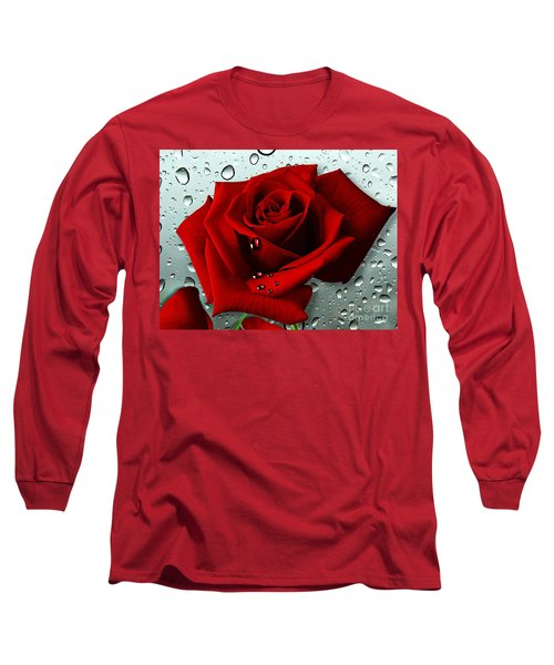 Tears From My Heart Long Sleeve T-Shirt