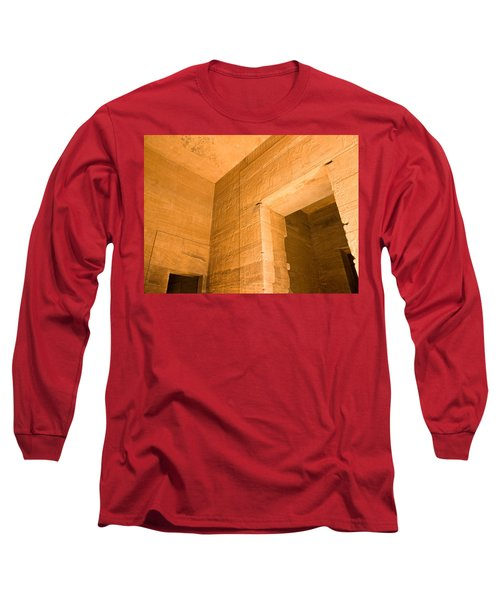 Temple Interior Long Sleeve T-Shirt