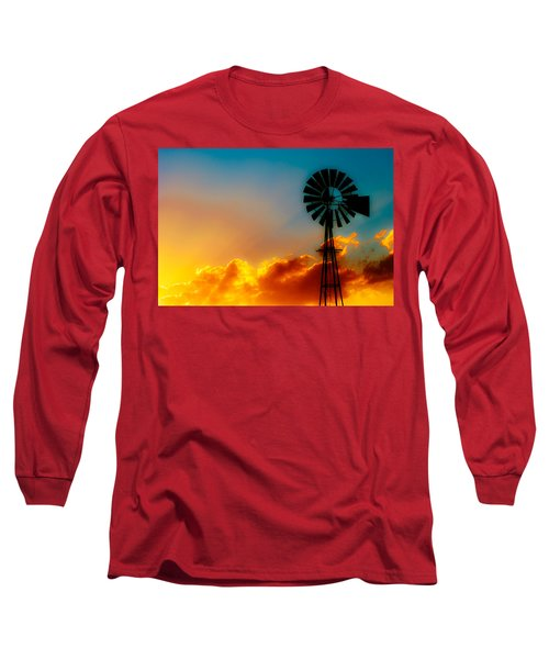 Texas Sunrise Long Sleeve T-Shirt