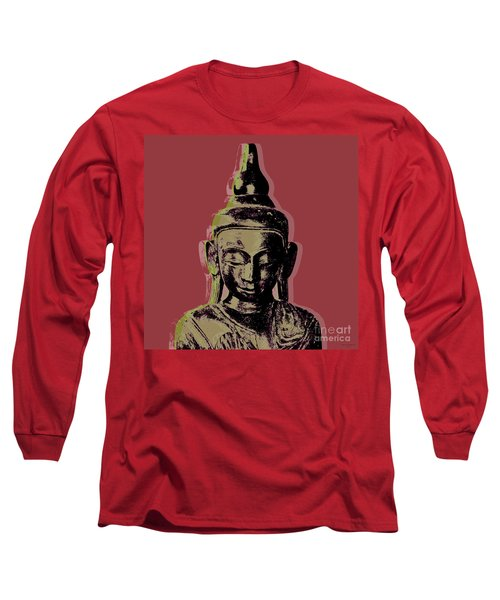 Thai Buddha #1 Long Sleeve T-Shirt