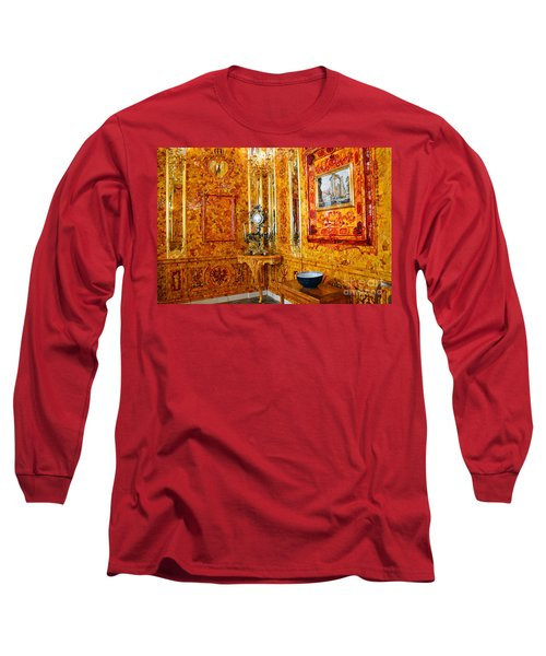 The Amber Room At Catherine Palace Long Sleeve T-Shirt