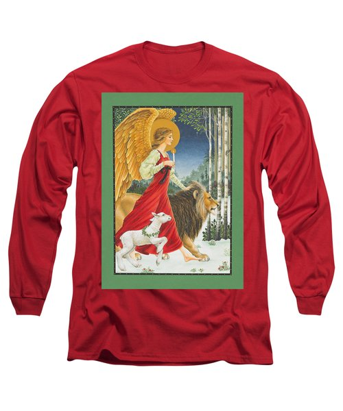 The Angel The Lion And The Lamb Long Sleeve T-Shirt