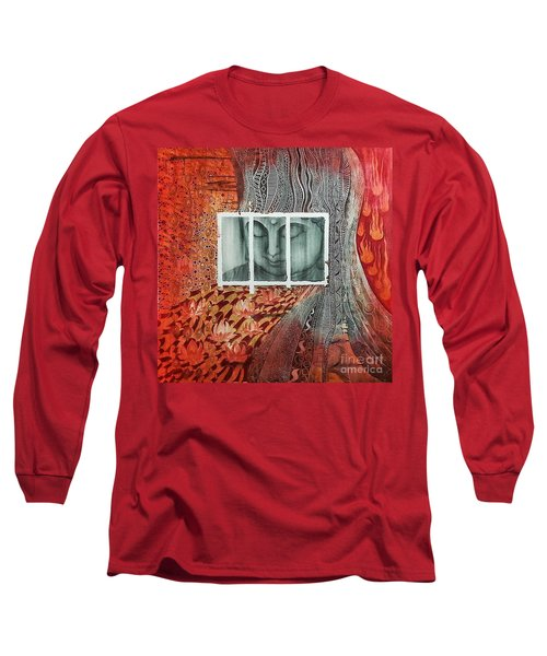 The Buddhist Color Long Sleeve T-Shirt