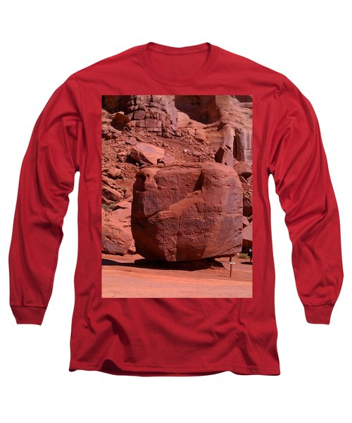 Long Sleeve T-Shirt featuring the photograph The Cube by Fortunate Findings Shirley Dickerson