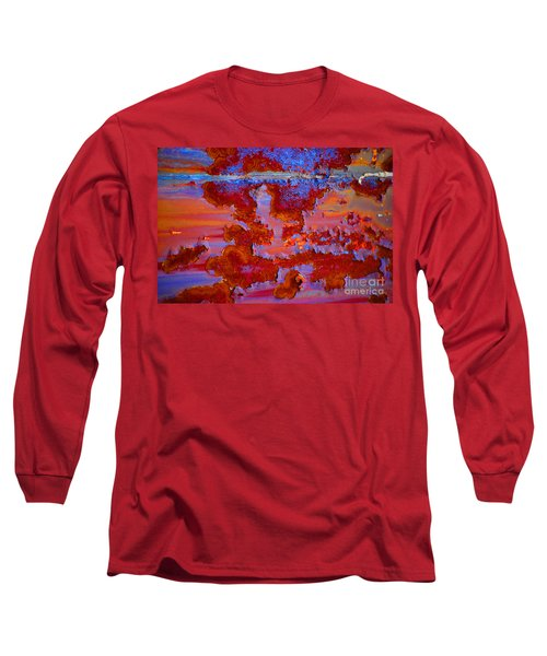 Long Sleeve T-Shirt featuring the photograph The Darkside #3 by Christiane Hellner-OBrien