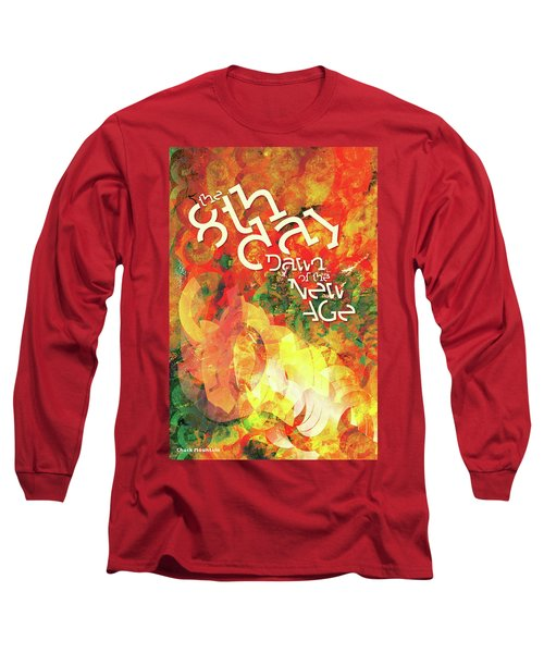 The Eighth Day Long Sleeve T-Shirt by Chuck Mountain