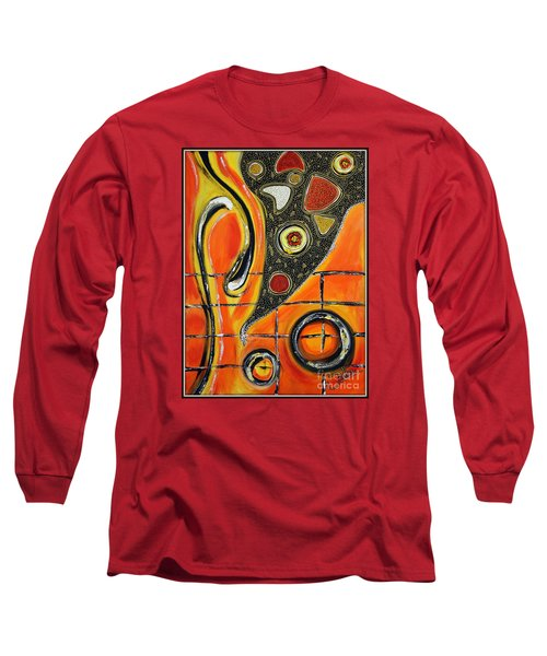 The Fires Of Charged Emotions Long Sleeve T-Shirt