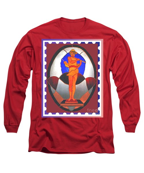 The Great God Pan Plays Long Sleeve T-Shirt by Patricia Keller