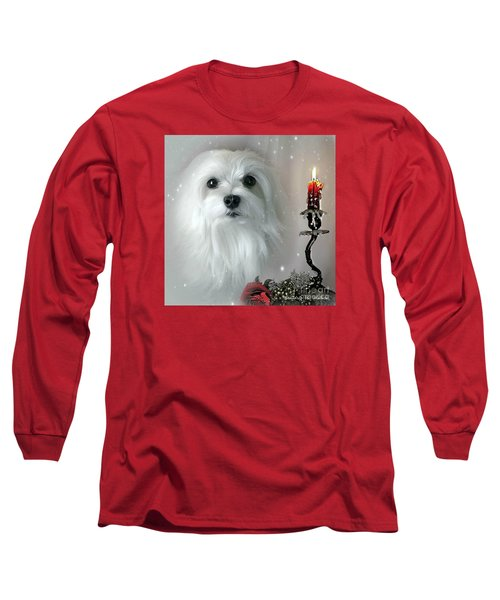 The Light In My Life Long Sleeve T-Shirt by Morag Bates