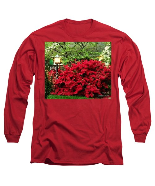 Long Sleeve T-Shirt featuring the photograph The Light Red Bush Bella by Becky Lupe