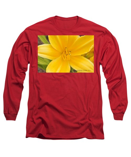 Long Sleeve T-Shirt featuring the photograph The Lily From Kentucky by Verana Stark