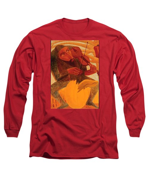 The Man And Mouse Long Sleeve T-Shirt