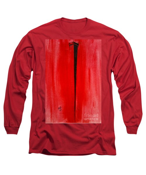 The Nail Long Sleeve T-Shirt by Justin Moore
