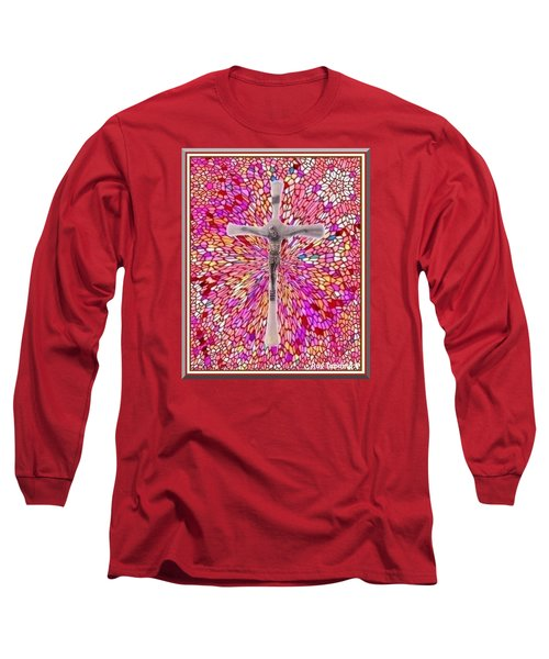 Long Sleeve T-Shirt featuring the mixed media The Perfect Sacrifice  by Ray Tapajna