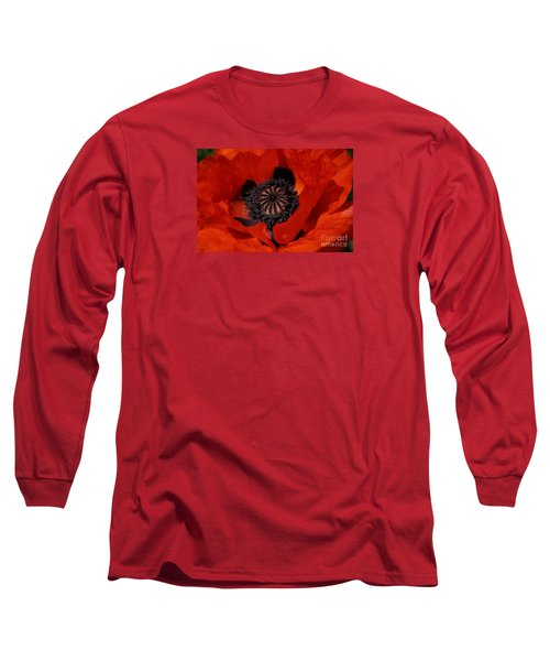 The Poppy Is Also A Flower Long Sleeve T-Shirt