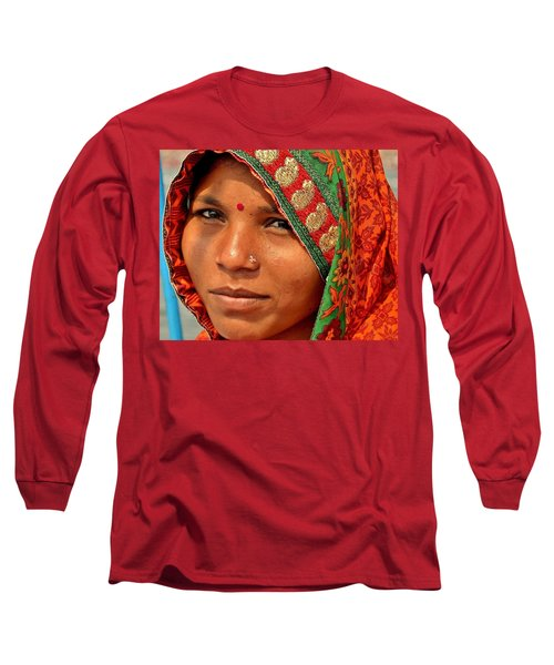 The Pride Of Indian Womenhood Long Sleeve T-Shirt