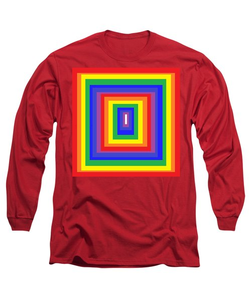 Long Sleeve T-Shirt featuring the digital art The Sixties by Cletis Stump