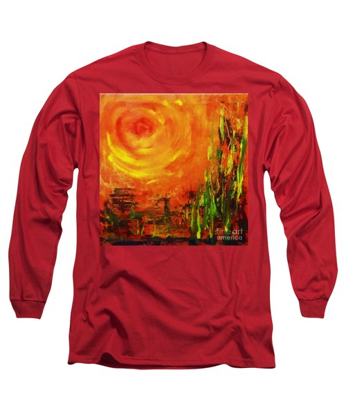 The Sun At The End Of The World Long Sleeve T-Shirt