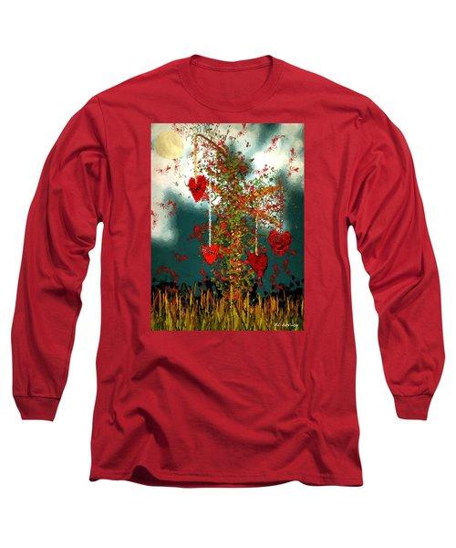 The Tree Of Hearts Long Sleeve T-Shirt