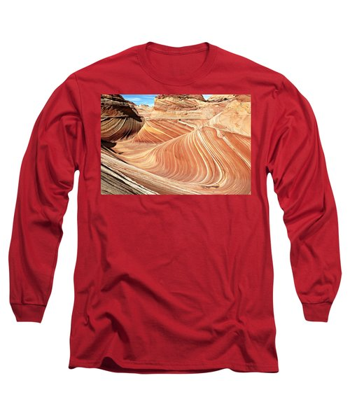 The Wave Rock #2 Long Sleeve T-Shirt