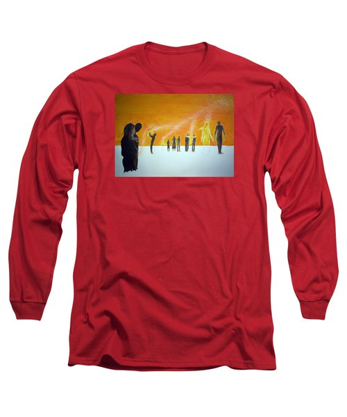 Those Who Left Early Long Sleeve T-Shirt by Lazaro Hurtado