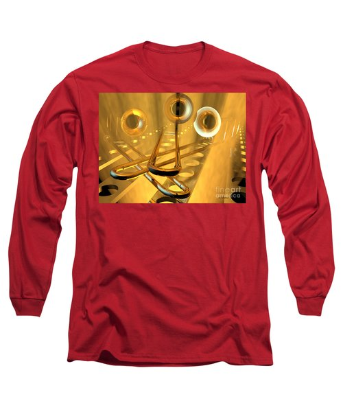 Three Trombones Long Sleeve T-Shirt