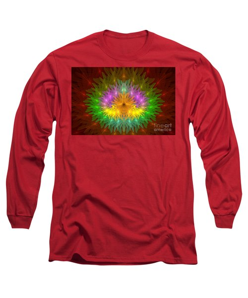 Throne Of The Queen Of Flowers Long Sleeve T-Shirt