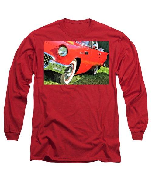 Thunderbird In Red Long Sleeve T-Shirt
