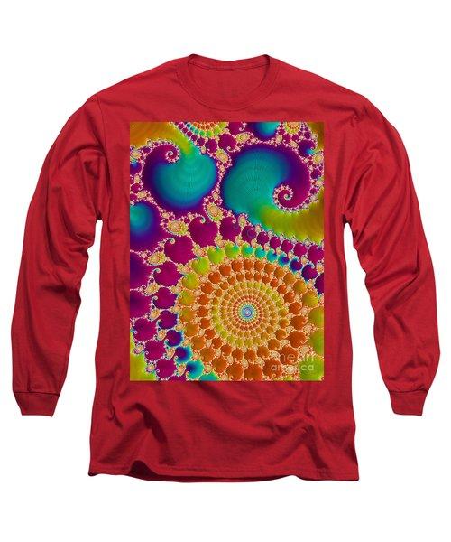 Tie Dye Spiral  Long Sleeve T-Shirt