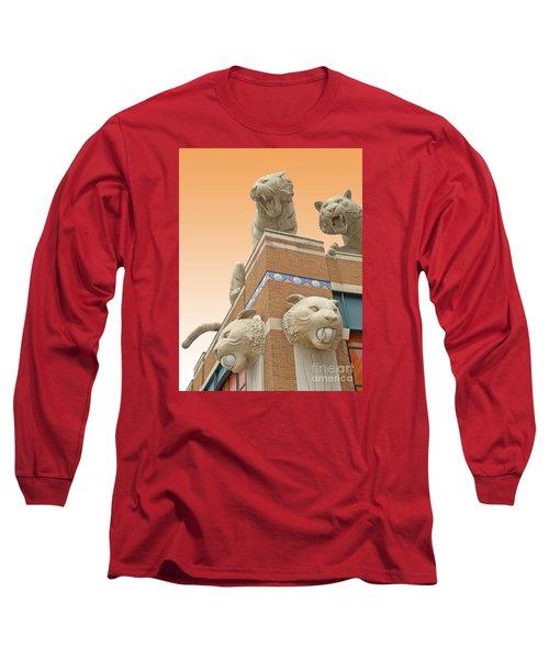 Tiger Town Long Sleeve T-Shirt by Ann Horn