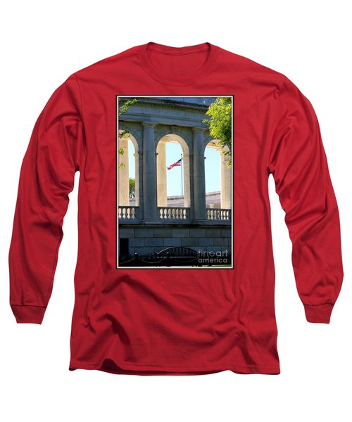 Long Sleeve T-Shirt featuring the photograph Time To Reflect by Patti Whitten
