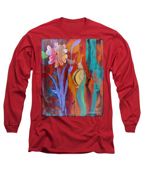 Time Traveler Long Sleeve T-Shirt by Robin Maria Pedrero