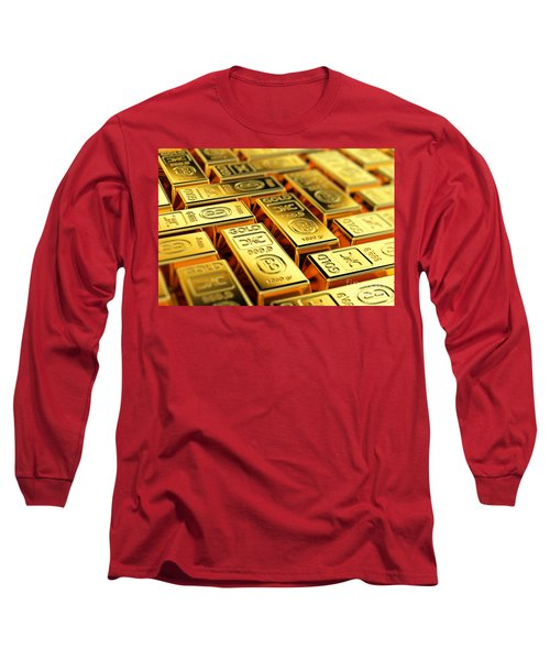 Tons Of Gold Long Sleeve T-Shirt