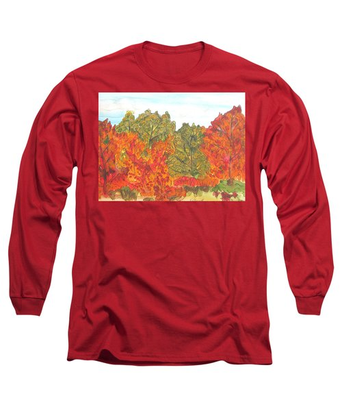Trees Of Fall Long Sleeve T-Shirt