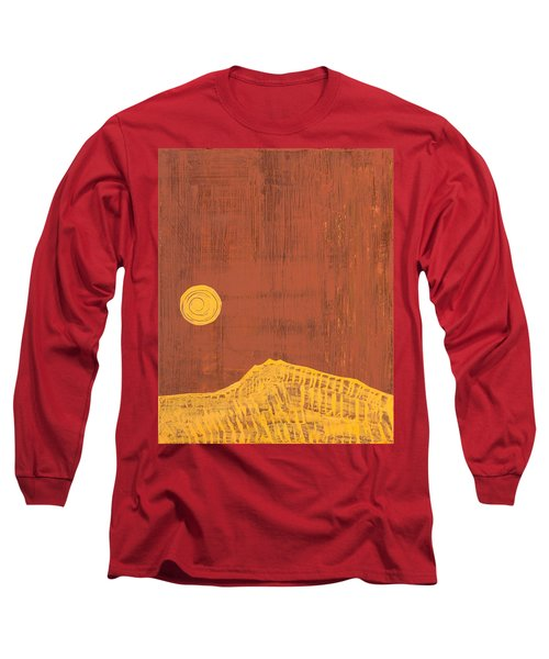 Tres Orejas Original Painting Long Sleeve T-Shirt by Sol Luckman