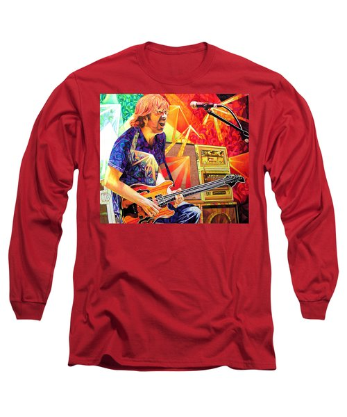 Trey Anastasio Squared Long Sleeve T-Shirt by Joshua Morton