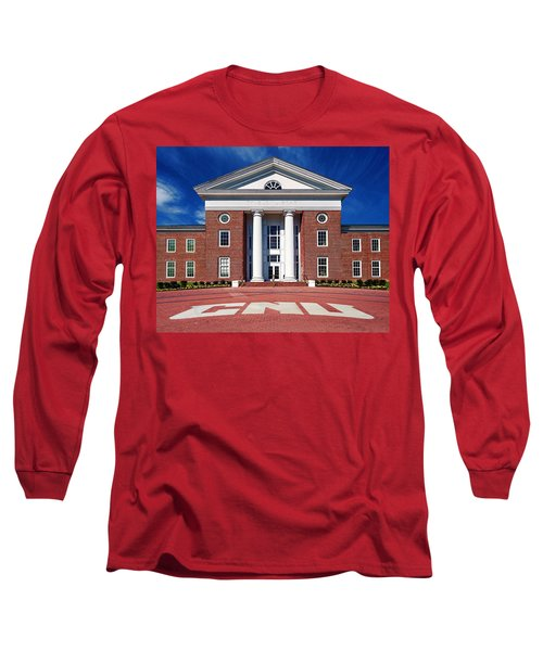 Trible Library Christopher Newport University Long Sleeve T-Shirt