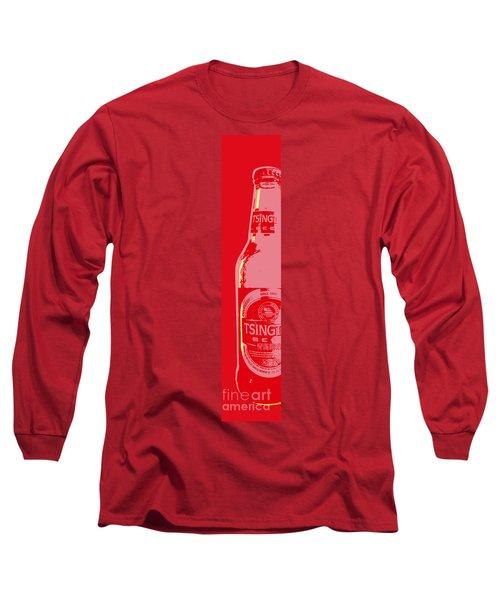 Tsingtao Beer Long Sleeve T-Shirt by Jean luc Comperat
