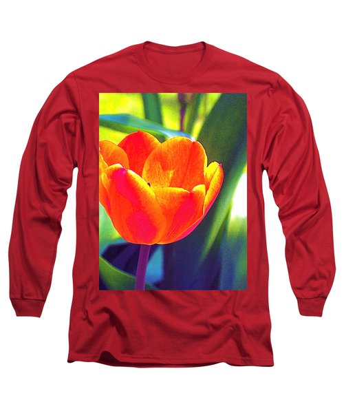 Tulip 2 Long Sleeve T-Shirt by Pamela Cooper