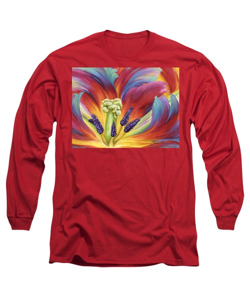 Tulip Color Study Long Sleeve T-Shirt