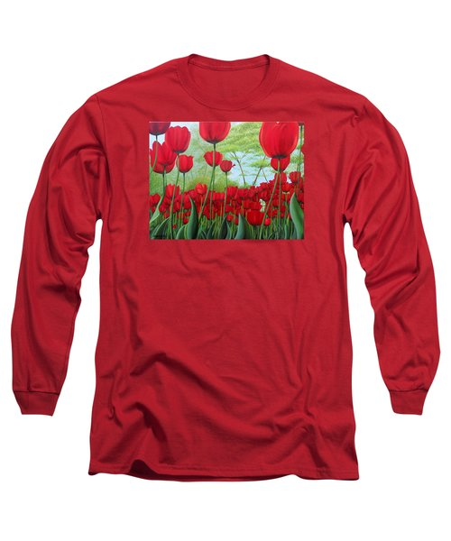 Tulipanes  Long Sleeve T-Shirt
