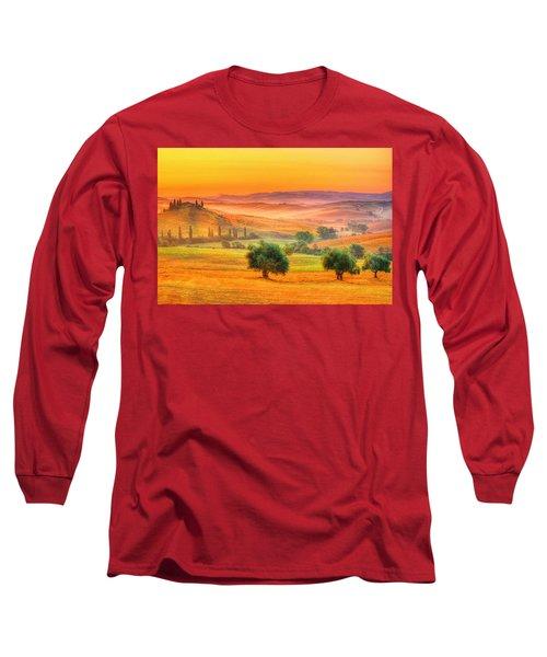 Tuscan Dream Long Sleeve T-Shirt