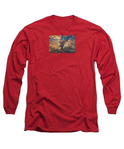 Twisted Sunset Long Sleeve T-Shirt by Janice Westerberg