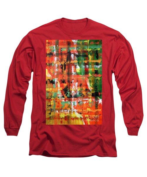 Three Parts Long Sleeve T-Shirt