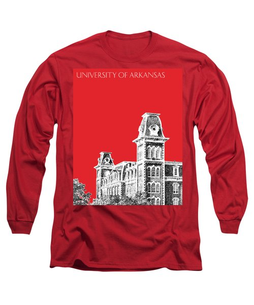 University Of Arkansas - Red Long Sleeve T-Shirt