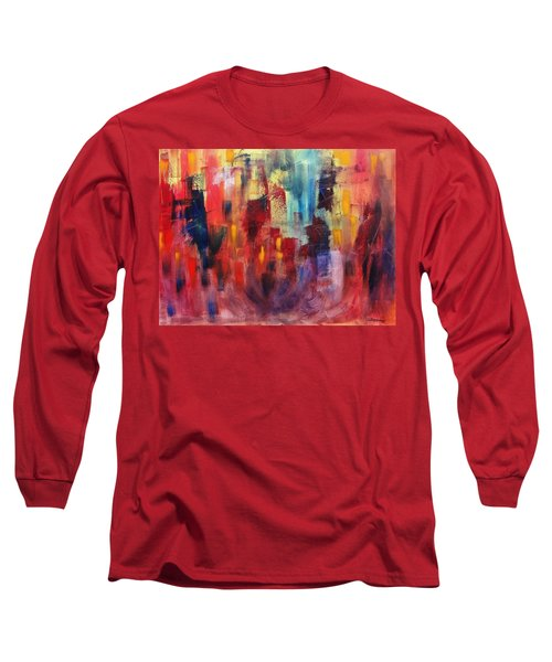 Untitled #4 Long Sleeve T-Shirt by Jason Williamson