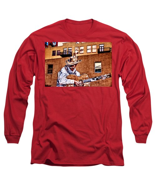 Urban Cowboy Long Sleeve T-Shirt by Bill Kesler