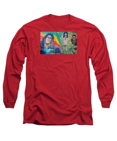 Urban Graffiti 1 Long Sleeve T-Shirt by Janice Westerberg