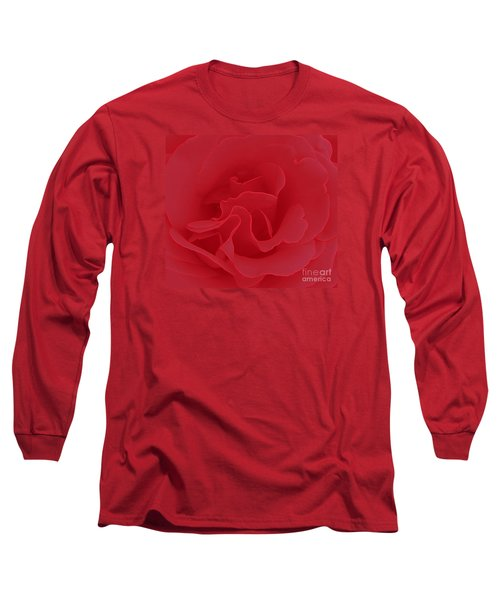 Valentine Red Long Sleeve T-Shirt by Janice Westerberg