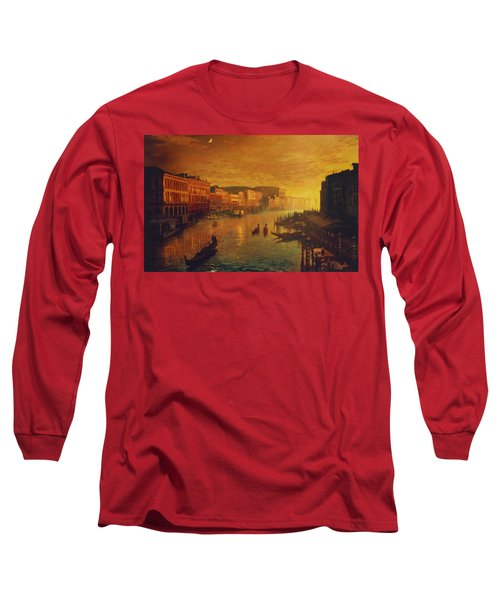 Venice From The Rialto Bridge Long Sleeve T-Shirt